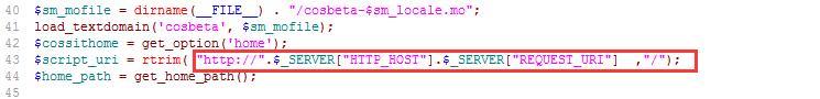 wordpress插件cos-html-cache不能缓存网站首页怎么办?