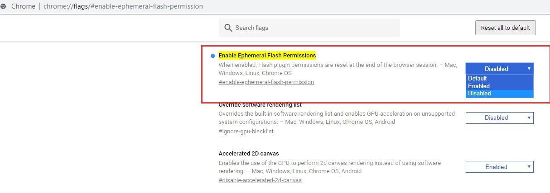 """谷歌chrome浏览器如何关闭烦人的""""运行flash""""弹窗提示?"""