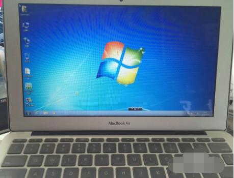 苹果笔记本怎么安装win7系统